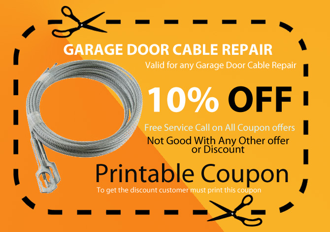 garage door cable replace